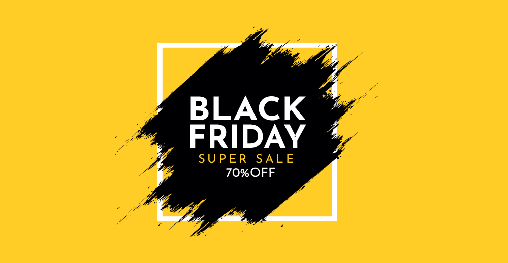 Black Friday 70% Shellrent