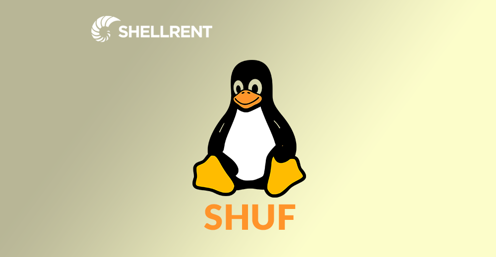 linux comando shuf