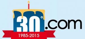 Trentesimo anniversario del .com