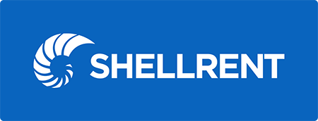 Logo Shellrent Negativo