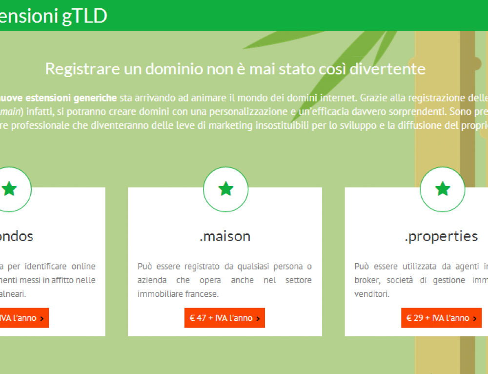 20 New gTLD per l'estate