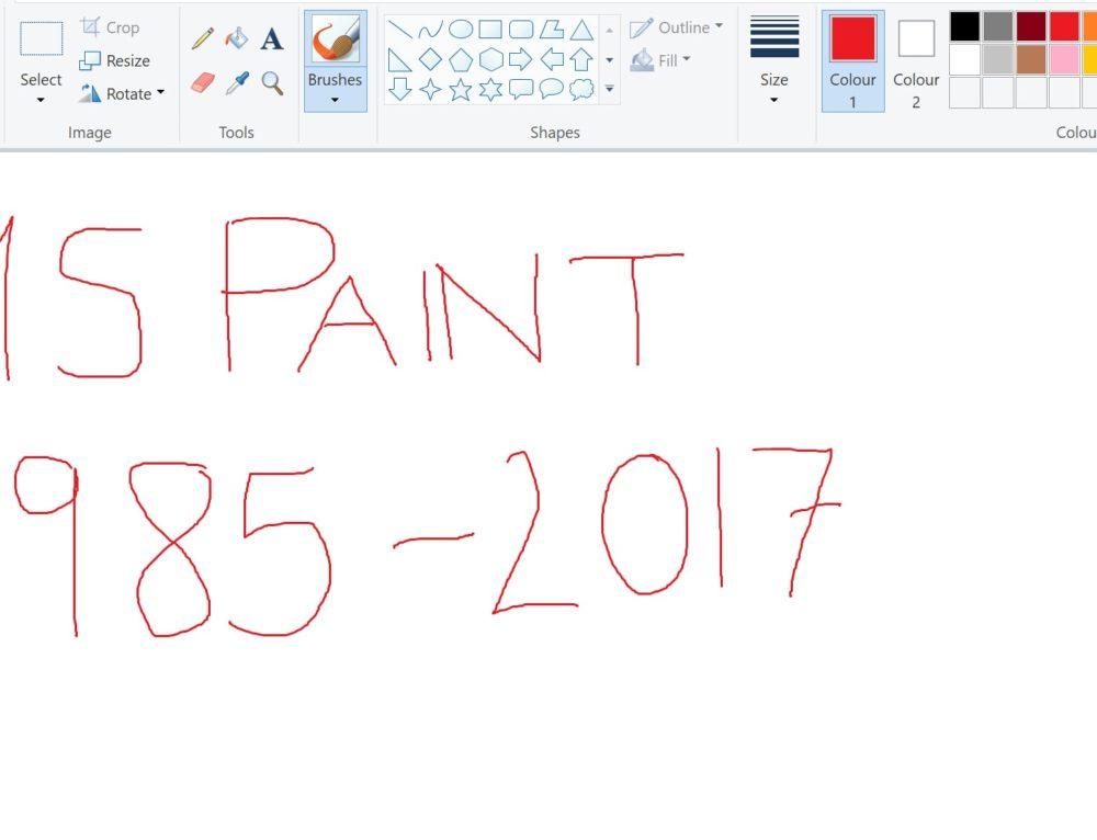 Microsoft Paint va in pensione