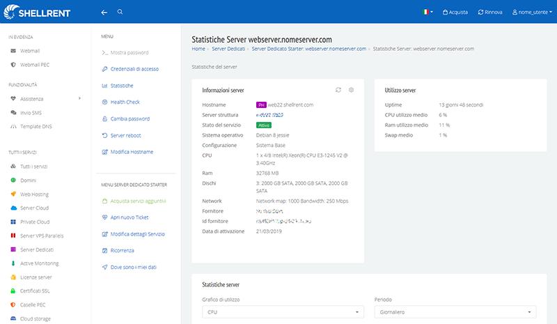Server Dedicato Configurazione3