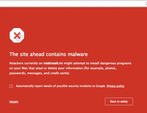 Google blocca 11.000 siti per colpa di SoakSoak