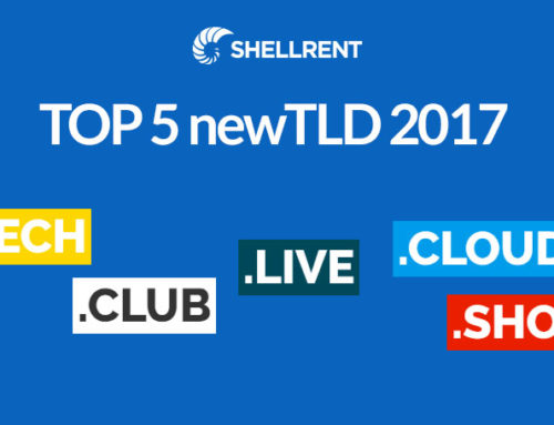Top 5 TLD registrate nel 2017
