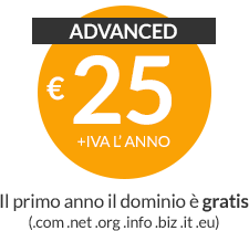 Web hosting Advanced