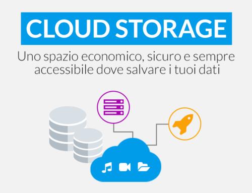 Attiva il tuo spazio di backup con il nuovo Cloud Storage