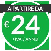 A partire da € 7 + iva