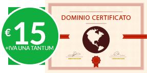 Dominio certificato