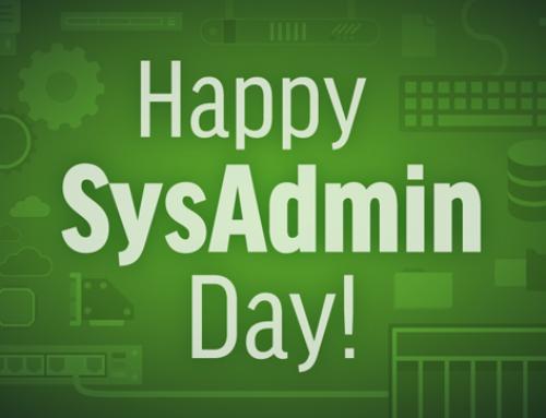 Perché festeggiare il Sys Admin Day