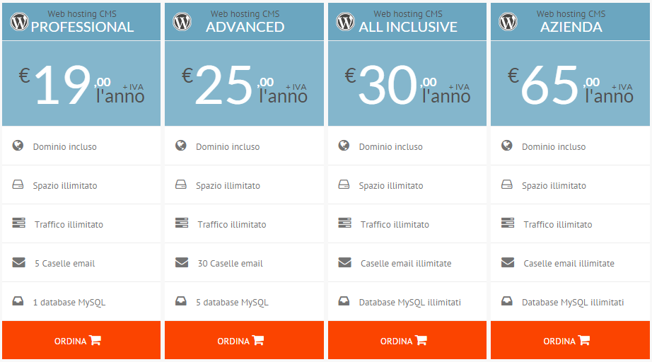 Web Hosting WordPress