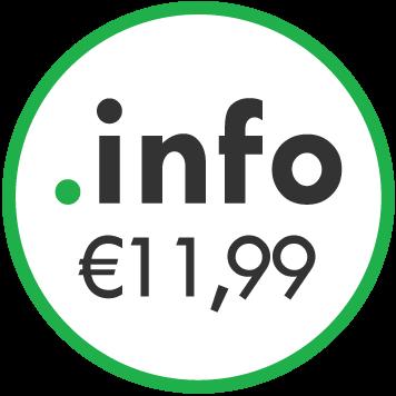 dominio .info