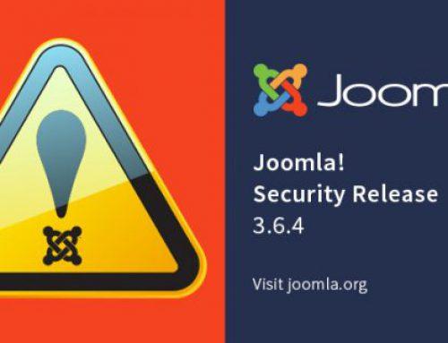 Individuate due falle critiche per Joomla!