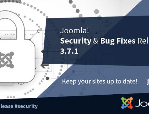 Hosting Joomla: 3.7.1 nuova release!