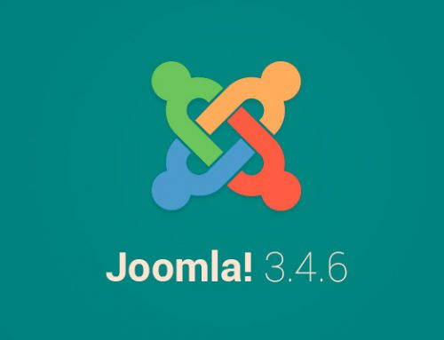 È disponibile l'aggiornamento a Joomla 3.4.8