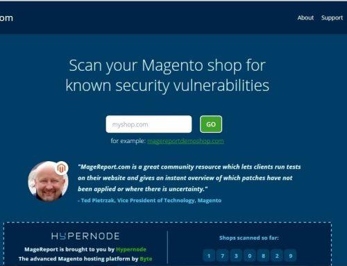 Proteggi il tuo Magento utilizzando Magereport