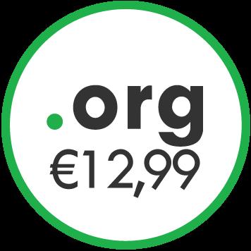 dominio .org