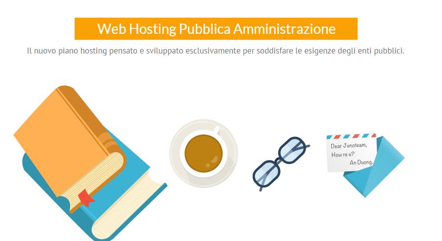 Web hosting pubblica amministrazione