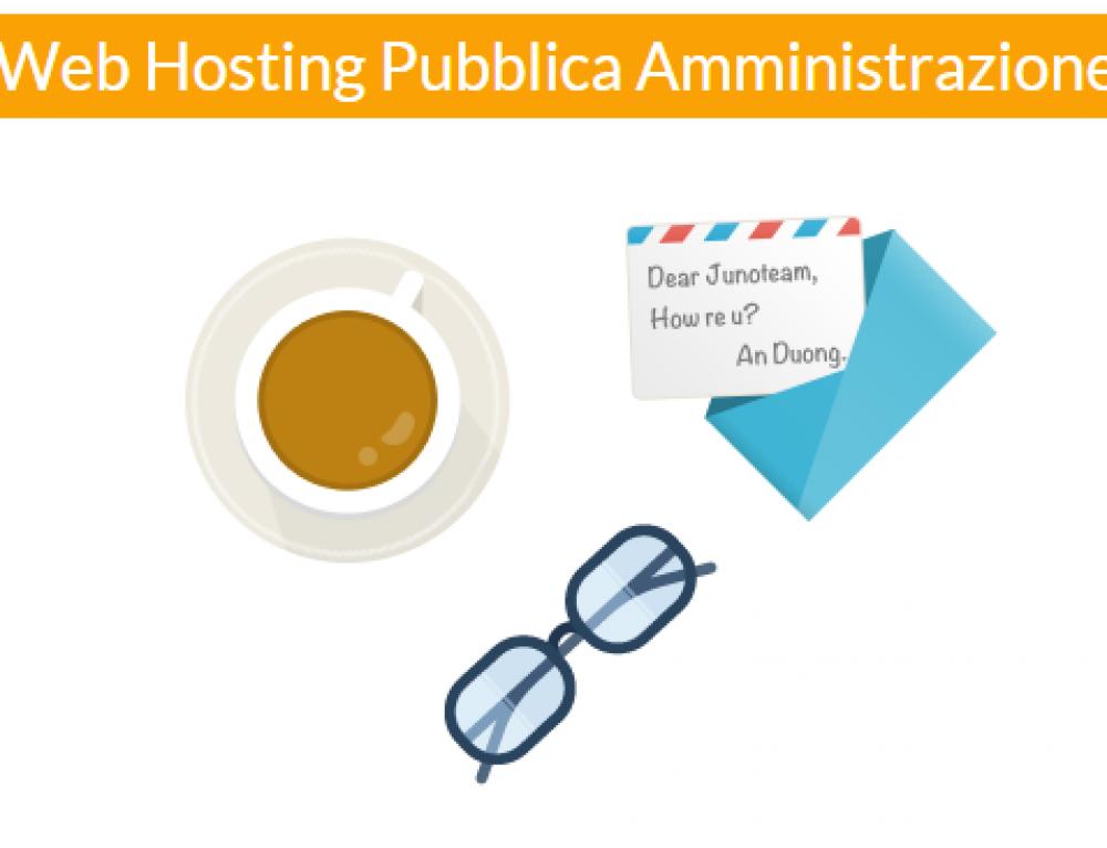 Ecco il nuovo Web Hosting Pubblica Amministrazione