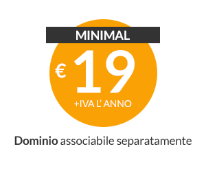 Web hosting Plesk Minimal