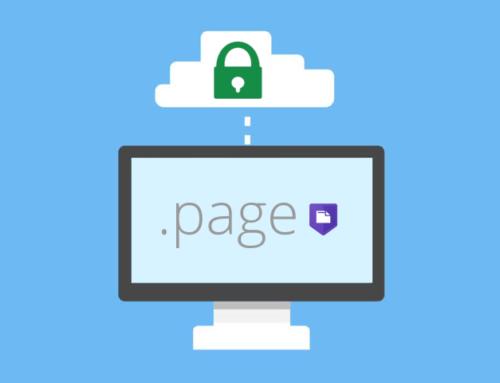 Il dominio .PAGE: un nuovo passo per un web sicuro