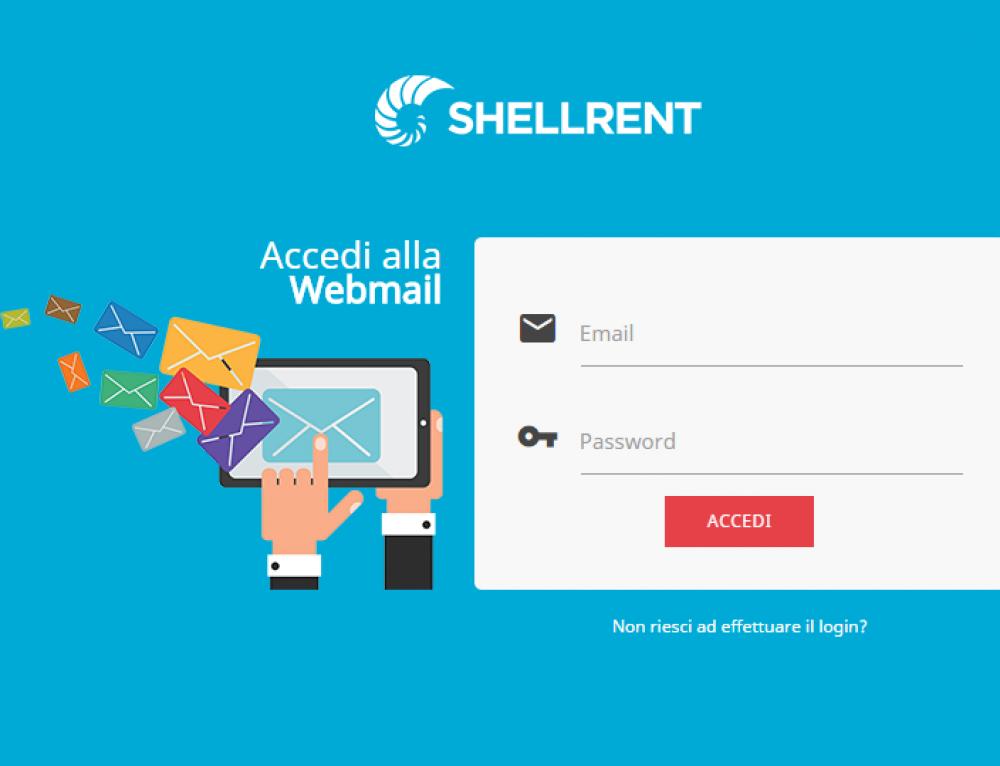 E' arrivata la nuova Webmail Shellrent!