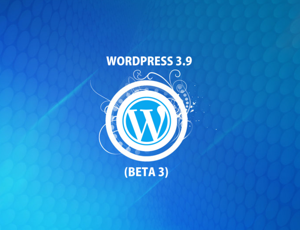WordPress 3.9 Beta 3